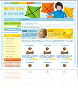 Kids e-shop template